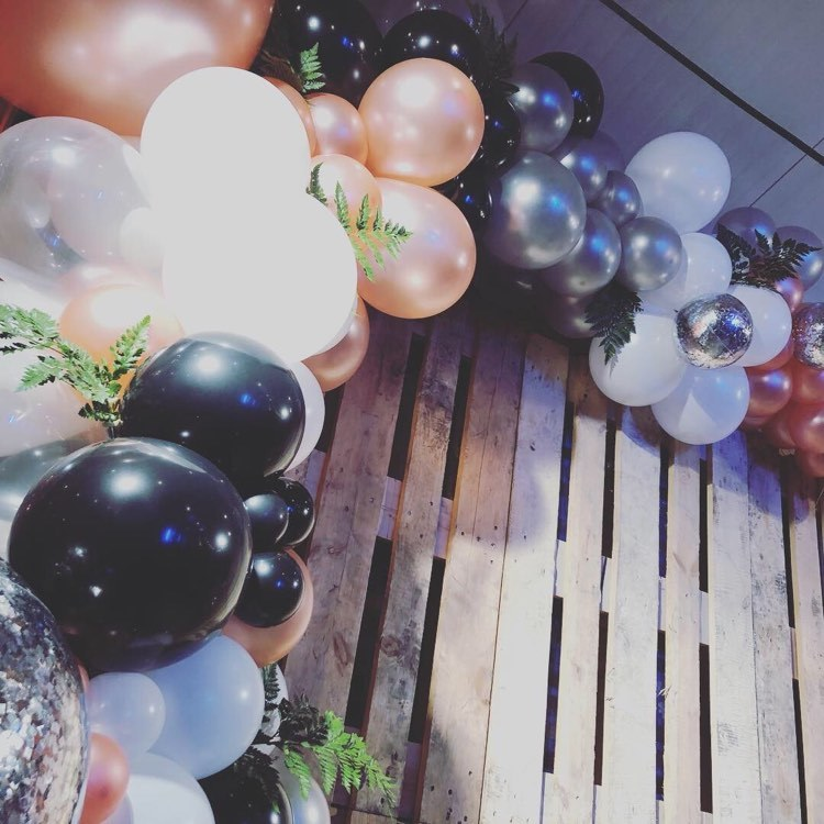 organische ballondecoratie