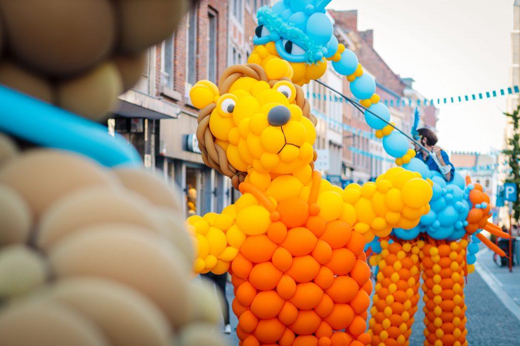Ballonnen kostuums